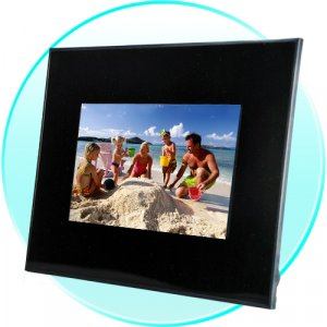 7 Inch Digital Photo Frame with Music and Video