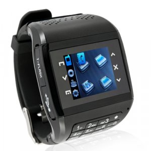 Quad Band Touchscreen Mobile Phone Watch + Bluetooth Headset