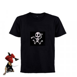 Sound Activated Light Shirt - XL