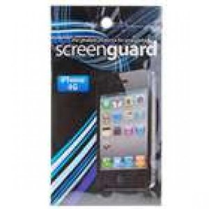 Protective Film and Cleaning Cloth for iPhone 4