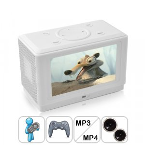 Multimedia Player Sound System and Game Console