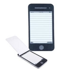 Post-It Pad, Phone Shaped