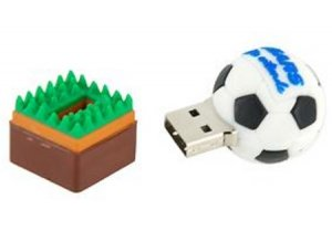 8GB Soccer/Football USB Flash Drive