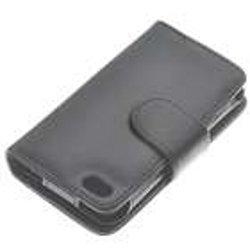 PU Case for iPhone 4, Black