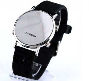 LED Wrist Watch, Black