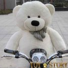 teddy bear  &free shipping&1.2m&white