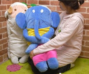 elephant pillow&free shipping