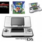 Nintendo DS Dual Screen Handheld Video Game System with 2 Games