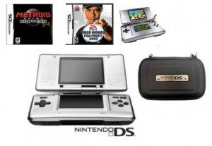 "Nintendo DS ""Tiger Woods 2005"" Bundle - 2 Games & DS Case"