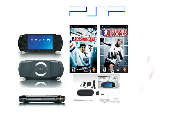 """Sony PSP """"Sports Value Pack"""" - 2 Games, UMD Sampler Pack + Extra Accessories"""
