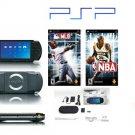 "Sony PSP ""Sports Bundle"" - 2 Games, UMD Sampler Pack + Extra Accessories"