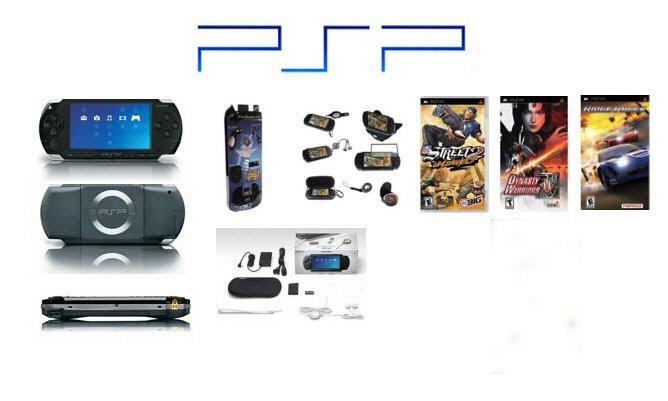 """Sony PSP """"Super Value Pack"""" - 3 Games, UMD Sampler Pack + PSP Pro Starter Kit"""