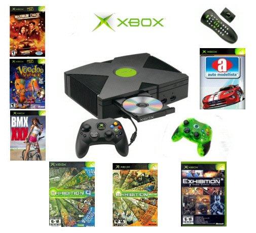"Xbox ""Saver"" Bundle - 7 Games, 2 Controllers & DVD Kit"