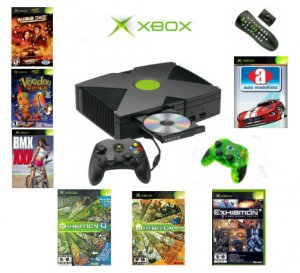 "Xbox ""Saver"" Bundle - 7 Games, 2 Controllers & DVD Kit"