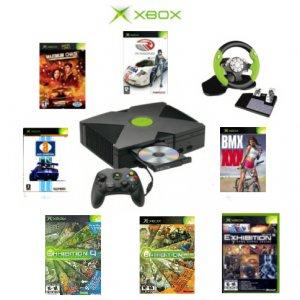 Xbox Racing Bundle - 7 Games + Wireless Steering Wheel
