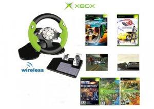 Need 4 Speed Racing Bundle - 5 Games + Wireless 2.4 Ghz Steering Wheel