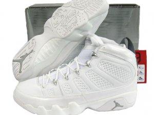 White Air Jordan IX