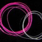 Furled 18# Fuchsia Glow Nympher Fly Fishing Leader 7.5'