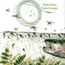 Furled 12Lb Moss Green 7-1/2Ft Fly Fishing Leader 4-6wt