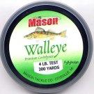 Mason Premium Copolymer Walleye 4Lb 300 Yd Fishing Line