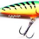 """Rapala Count Down FireTiger Sinking Micro 1-1/2"""" Lure"""