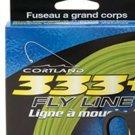 Cortland 333 WF4 Floating Rocket Taper Green Fly Line
