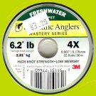 Scientific Anglers Mastery 4x (6.2 lb) Tippet - 98.4 FT