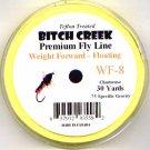 Bitch Creek Lemon Yellow Teflon WF8 Floating Fly Line