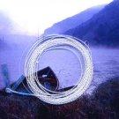 Furled 16 LB Test Saltwater Fluorescent Blue Fly Leader