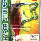 Original Deadly 3/8 Ounce Red Shad Hyper Striper Jig