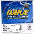 Cortland Fairplay 3x (5.5 Lb test) 9' Tapered Leader