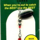 Monti 1/6 oz.- Silver & Gold Trout Spinner Fishing Lure
