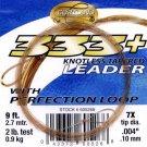 Cortland 9'-7x (2 Lb test) 333+ Tapered Leader w/Loop