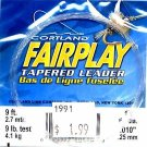 Cortland Fairplay 1x (9 Lb test) 9' Tapered Leader