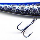 """Storm 3-1/2"""" Metal Silver/Blue ThunderDog Topwater Lure"""