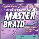 Cortland Premium Master Braid - Sea Green 50 LB 300 YDS