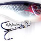 Rapala Suspending Rattlng Silver Shad Rap Lure