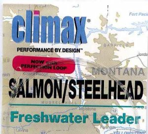 Climax 4 ft 10 Lb Salmon/Steelhead Fly Fishing Leader