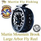 Martin Mountain Brook 7/8 Large Arbor Fly Fishing Reel