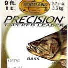 Cortland 3x (8Lb test) 9' Precision Bass Tapered Leader