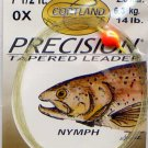 Cortland 0x 14 Lb Nymph 7-1/2' Precision Tapered Leader