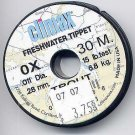 Climax TROUT 0x Monofilament FlyFishing Tippet Material