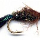 Zug Bug Nymphs - One Dozen Size 16 Fly Fishing Flies