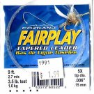 Cortland Fairplay 5x (3.5 Lb test) 9' Tapered Leader