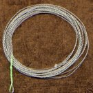 Furled 7.5' 12# Green Fluorocarbon Leader + Ring 6-8 wt