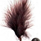 Premium Dyed 1 Ounce Brown Strung Marabou Feathers