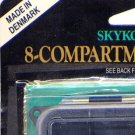 Skykomish Lifetime Durable Floats 8-Compartment Fly Box