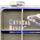 Crystal River 12 Compartment Lexan Fly Fishing Box
