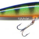Rapala CD9-P Sinking Perch Countdown Lure with PAPERS