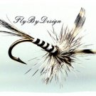 Mosquito Dry Fly - Twelve Size 16 Fly Fishing Flies